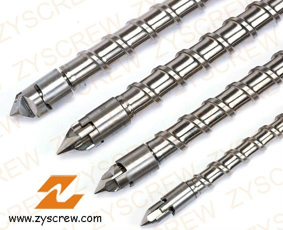 Injection Screw Barrel Injection Molding Screw Barrel Single Screw Cylinder