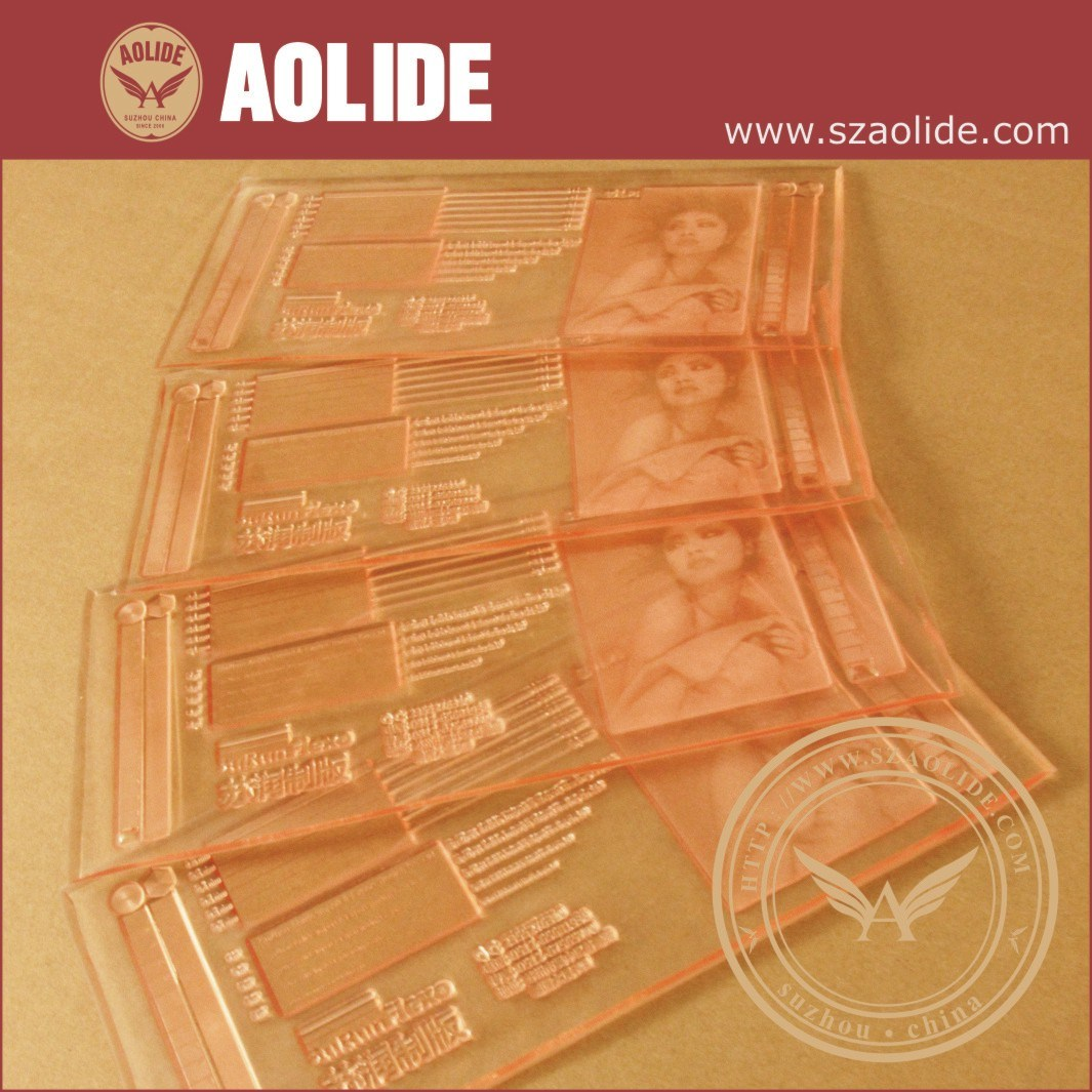 2.84mm Photopolymer Flexo Plate