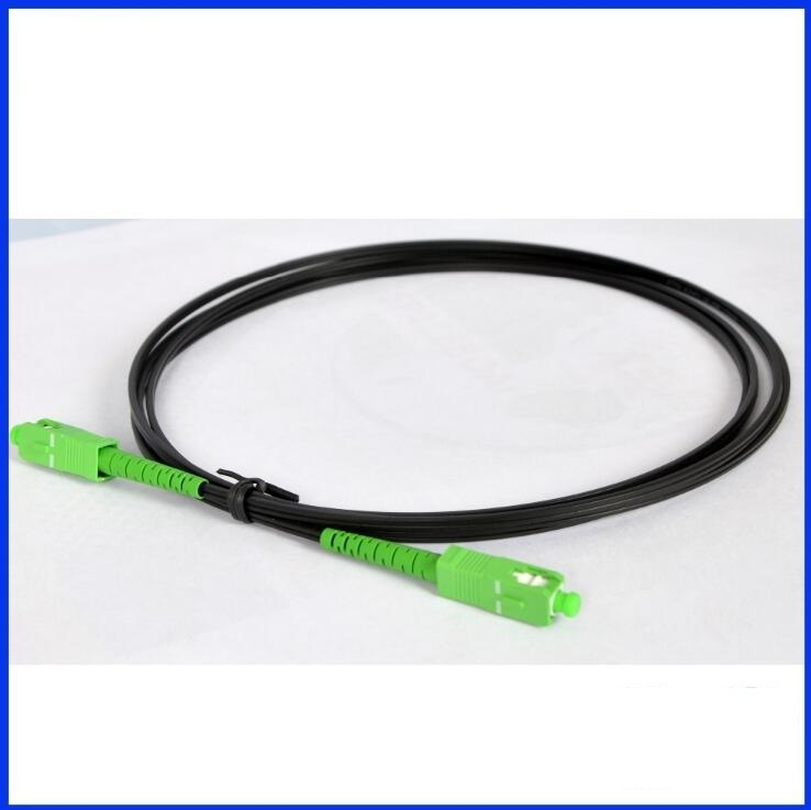 Flat Shape FTTH 1core G657A LSZH Fiber Optical Drop Cable/Indoor Butterfly Drop Cable