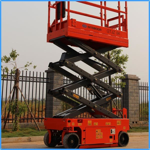 Small Moveable Aerial Platform