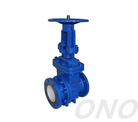 Cast Iron Dregs Eduction Gate Valve
