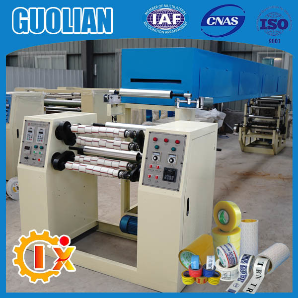 Gl-500c Strict Quality Controlled Tape Coating Machine with Water Acrylic Glue
