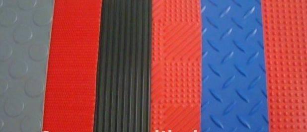 Antifatigue Mat Leaf PVC Flooring Plastic Floor Mat (3G-LEAF)