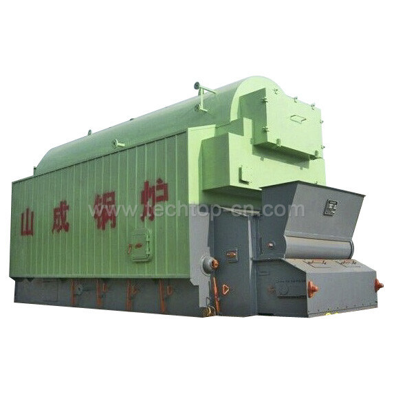 Large Furnace Full Steam Coal, Wood Industrial Hot Water