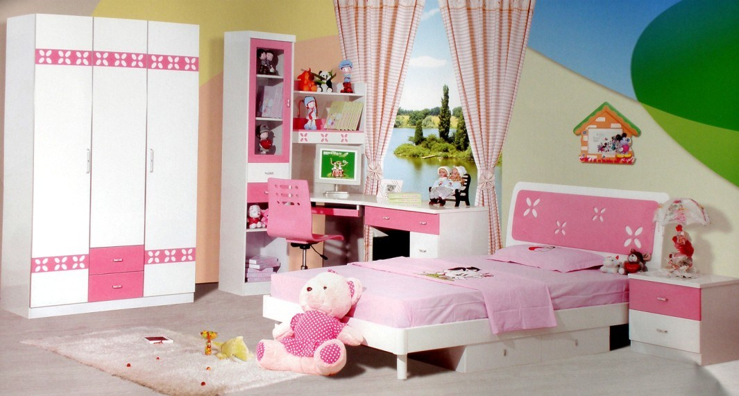 china baked paint kids bedroom set 602 china wooden