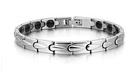 Health Care Carbon Fiber Titanium Energy Magnetic Bracelet