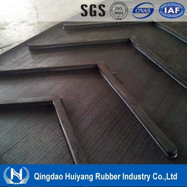 Close V Pattern Rubber Conveyor Belt