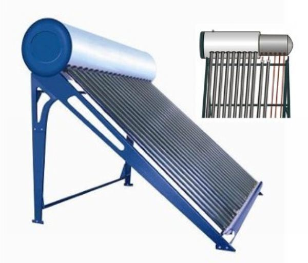 China heat pipe domestic solar hot water heater china for Domestic hot water heaters