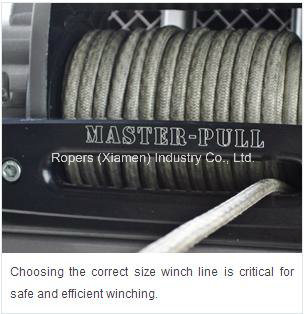 "5/16""X50′ Optima T for Winch Rope, UHMWPE rope/multifilament ropes"
