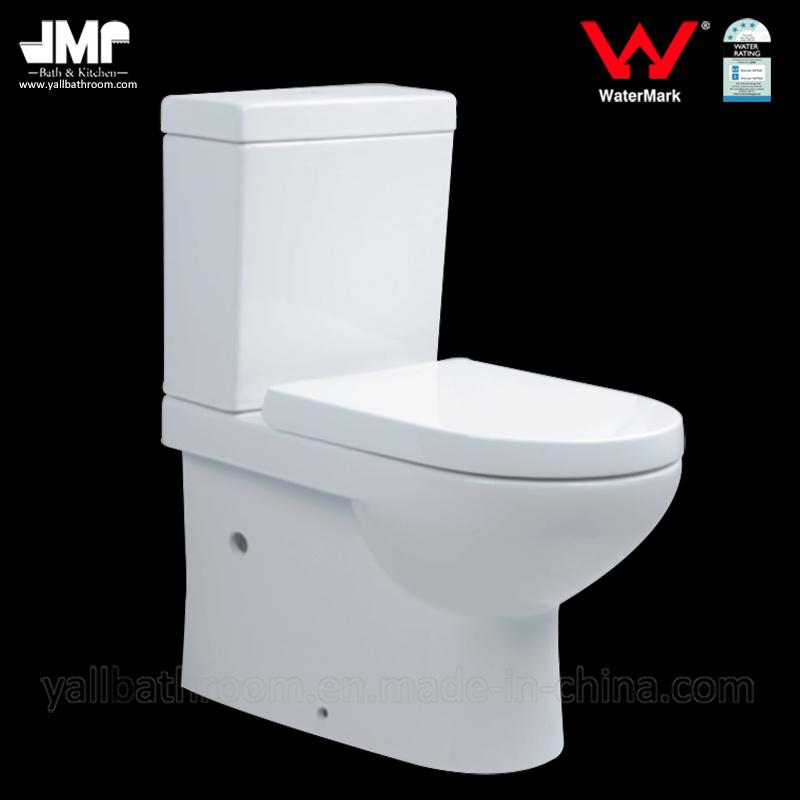 558 Australian Standard Sanitary Ware Watermark Dual Flush Bathroom Ceramic Toilet
