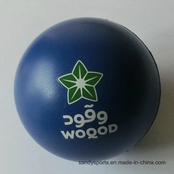 Popular Custom Logo Promotion 10cm PU Stress Foam Ball