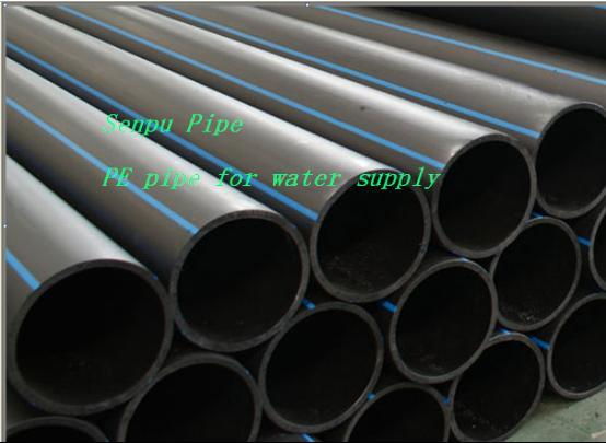 Water Supply Dn20-Dn1200 PE Pipe