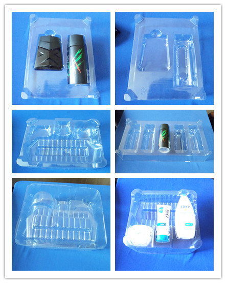Clear Pet Blister Tray for Daily Use Set Products Clear Blister Tray Dove Products
