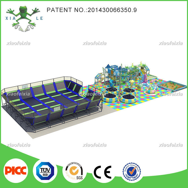 Xiaofeixia Customized Bounce Commercial Large Indoor Trampoline Park
