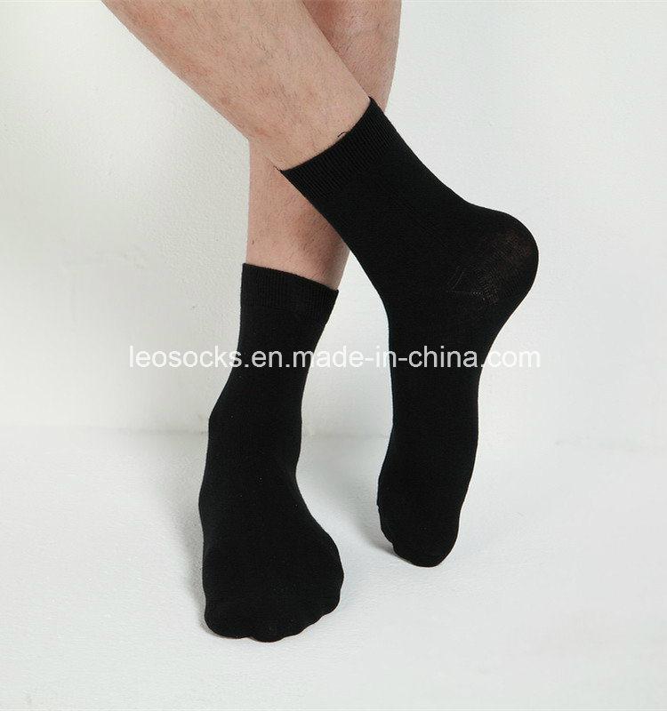 2016 New Style Men Cotton Black Men Socks