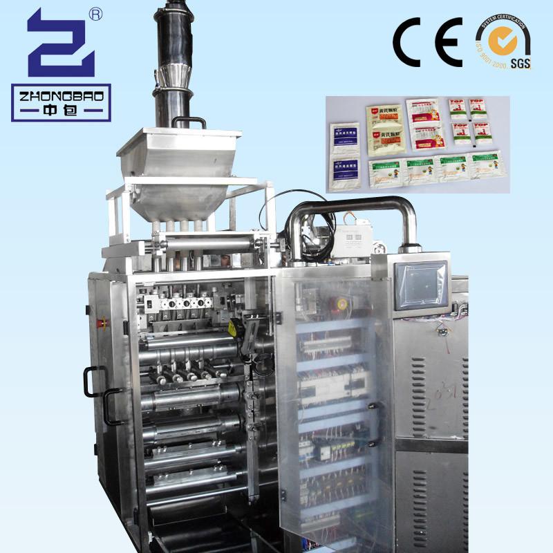 Granule Four Side Sealing & Multi-Line Packing Machine (DXDO-K500E)