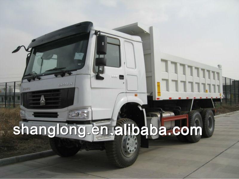 Sinotruk 290HP/336HP/371HP 25tons HOWO 6X4 Dump Truck (ZZ3257M3241M)