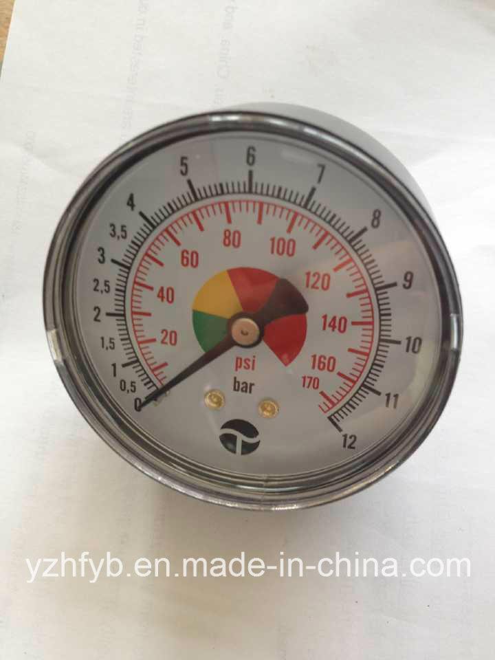 Plastic Case Pressure Gauge