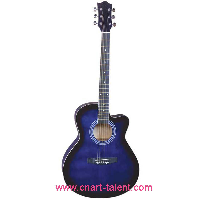 "40""Acoustic Guitar Cutaway/Musical Instrument (AG-4010C)"
