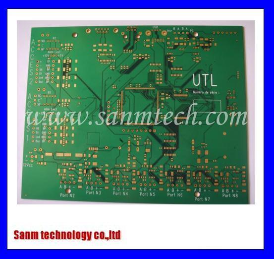 4 Layers Printed Circuit Board (immersion gold PCB) (MP-204)