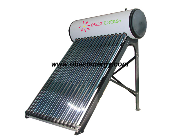 Copper pipe pressure solar water heater oeh58 china for Copper pipe heater