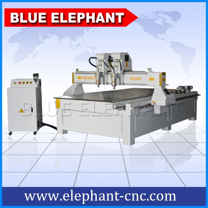 1325 Multi Spindle Wood Furniture Making CNC Router