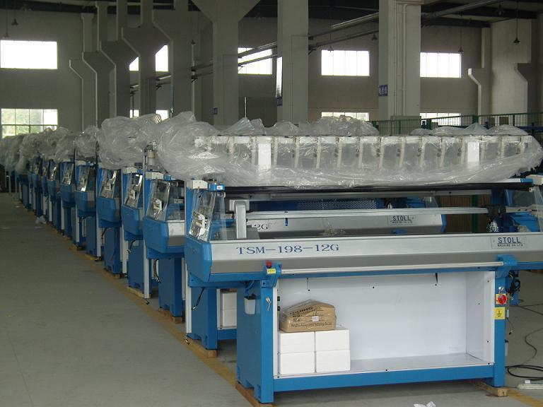 Comuterized Flat Jacquard Knitting Machine (TSM-168)