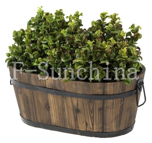 Flower  on Garden Planter Wooden Flower Pot  Xf P2310    China Pot Planter