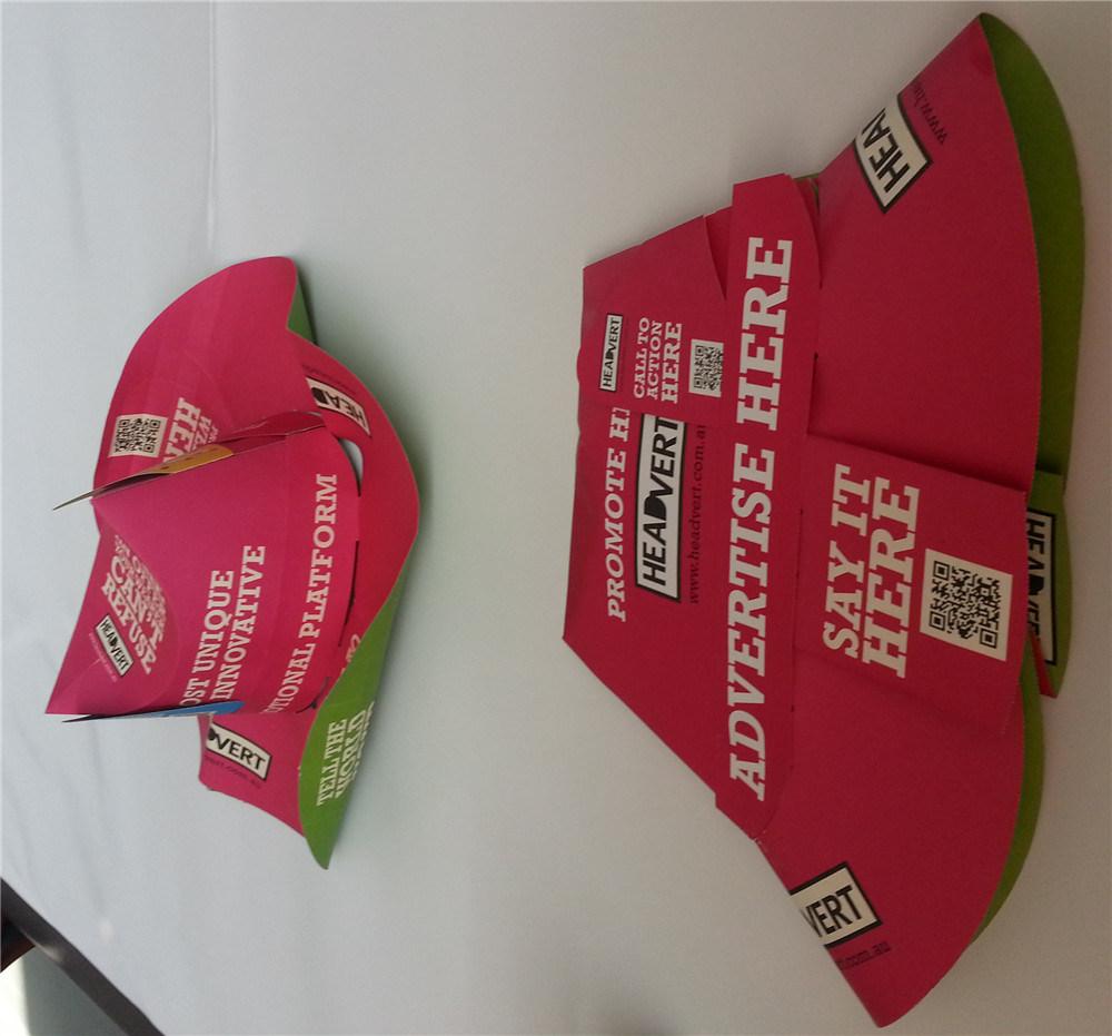 Paper Cap /Printed Paper Hat /
