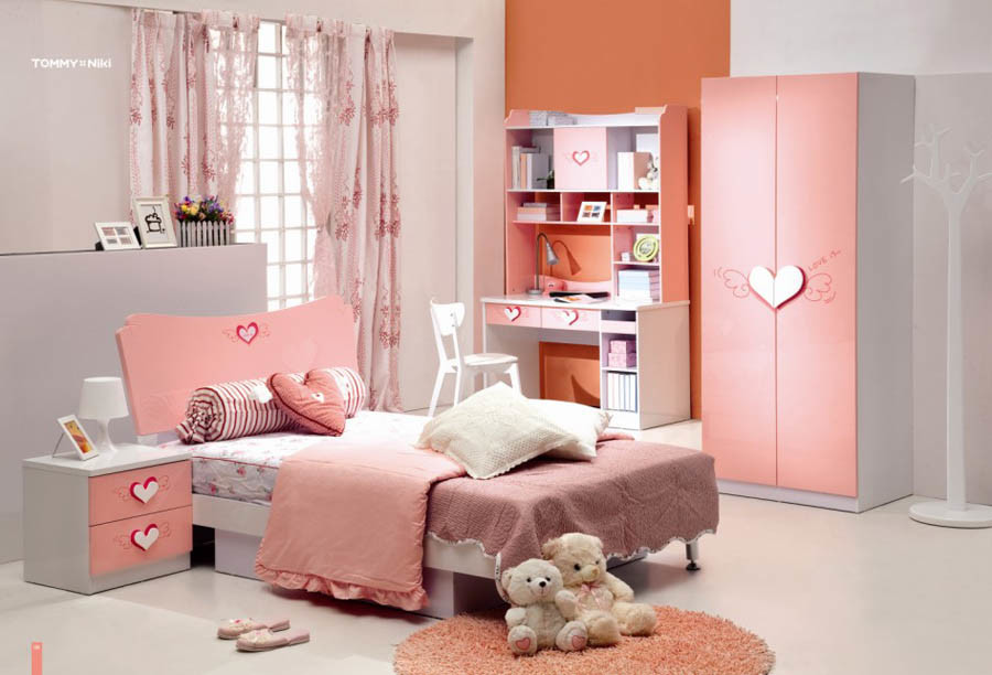China little girl bedroom furniture 02 china home for Girls bedroom furniture