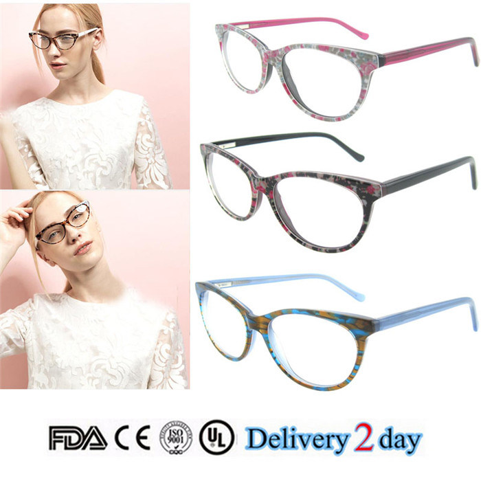 Wholesale Eyewear Frame Fashion Eyeglass Optical Frame with Ce and FDA