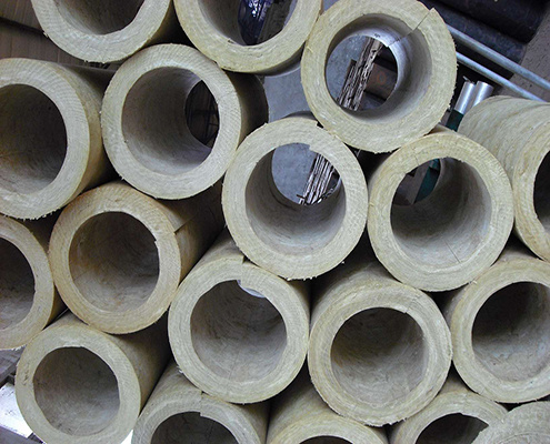 Fiberglass Mineral Wool Pipe, Rock Wool Pipe Insulation