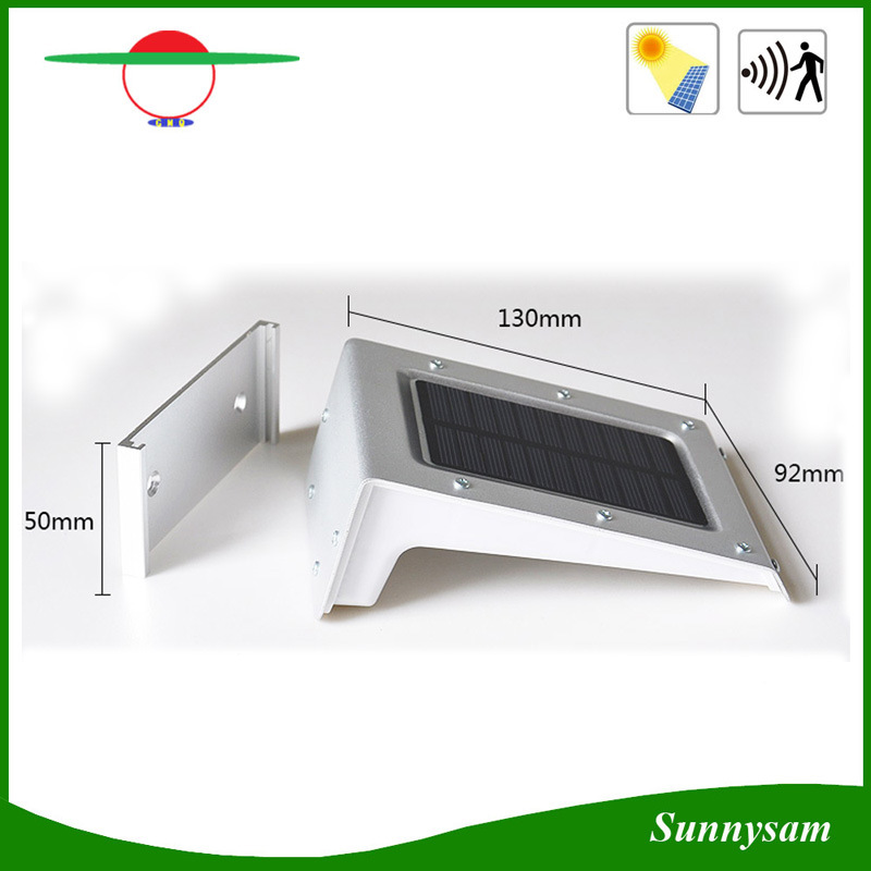 Solar Power Powered 20 LED Bright Energy Saving Waterproof Garden Outdoor Motion Sensor PIR Security Wall Light
