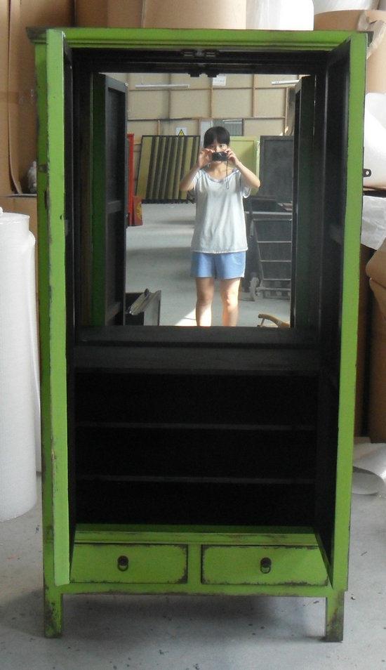 Chinese Antique Furniture Big Wine Cabinet Lwa381