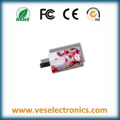 Custom USB Flash Drive Credit Card USB Drive USB Flash