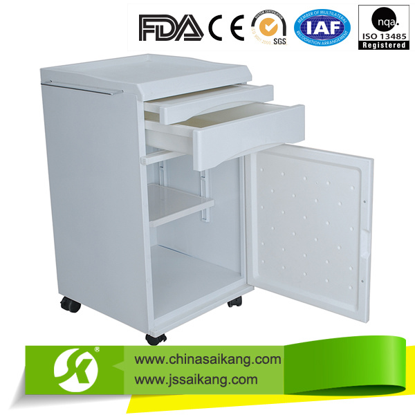Aluminium Bedside Cabinet Hospital Furniture (CE/FDA/ISO)