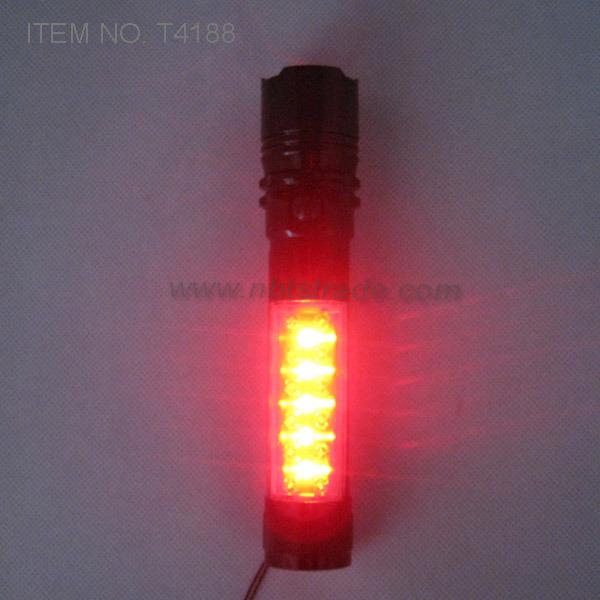 Powerful Aluminium Magnetic LED Flashlight with Work Light (T4188)