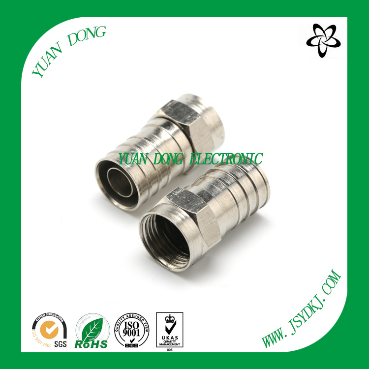 Rg59 Coaxial Cable F Compression Connector
