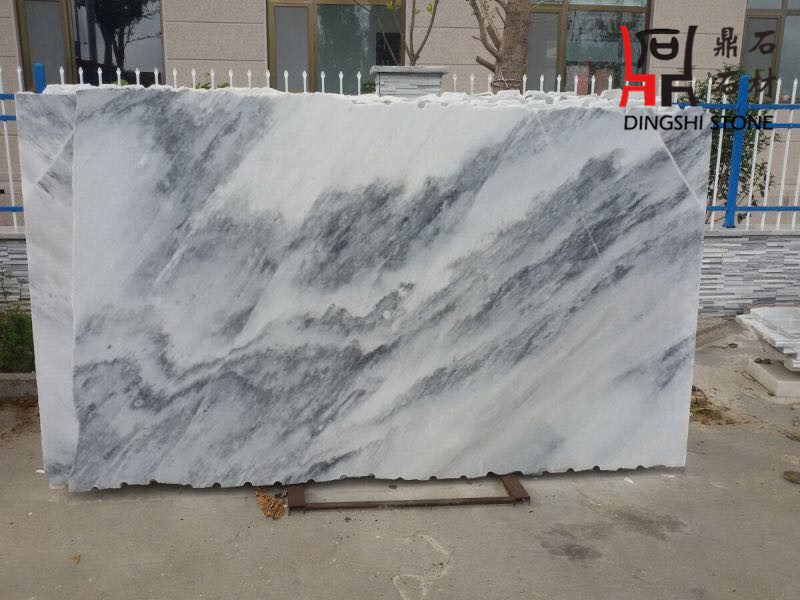 Chinese Landscape Painting Marble Slab for Flooring Tiles and Wall Tiles