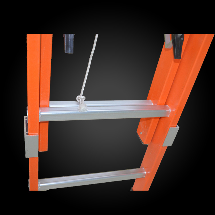 High Strength Insulated Fiberglass Telescopic Rope Ladder