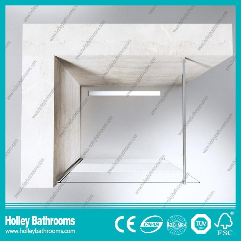Walk-in Door Ground Glass Simple Shower Elclosure Door (SE716E)