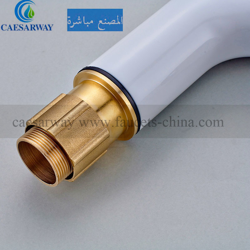 Brass Single Handle Basin Faucet for Bathroom