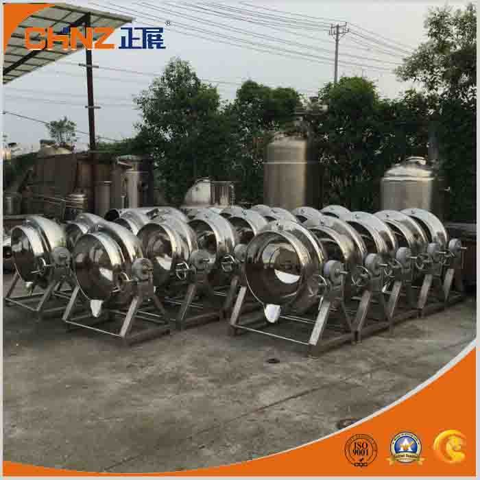 Stainless Steel Steam Heating Jacketed Kettle