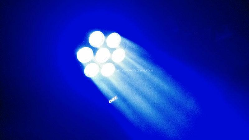 7 *12W RGBW 4 in 1 Mini LED Beam Moving Head