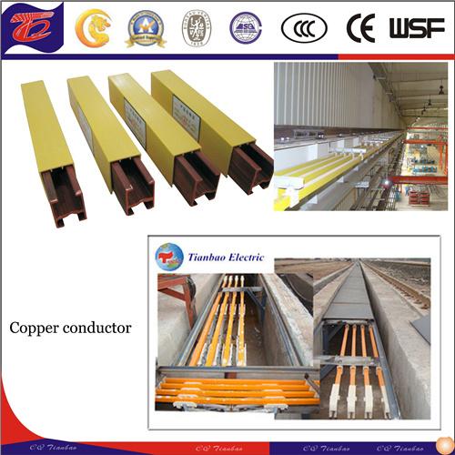 Gantry Crane Stable Custom Single Pole Copper Conductor