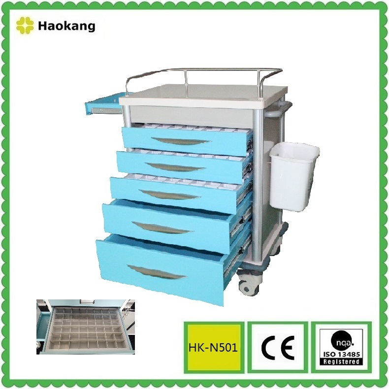 Medical Equipment for Hospital Treatment Trolley (HK-N502)