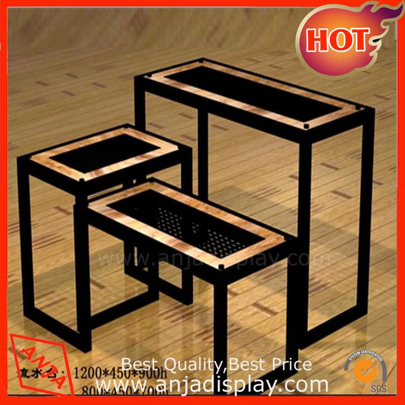 Metal Clothes Display Table Fixture