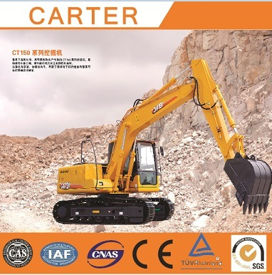 Carter CT150-8c Multifunction Hydraulic Crawler Heavy Duty Backhoe Mini Excavator