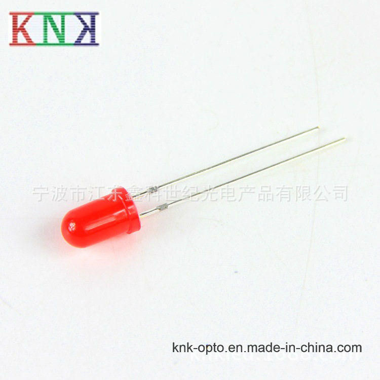 5mm Round Red Super Brightness Diffused LED