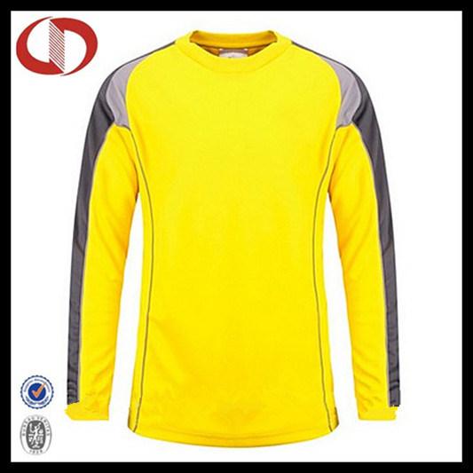 Custom Design Soccer Jersey Goalkeeper Shirt for Man